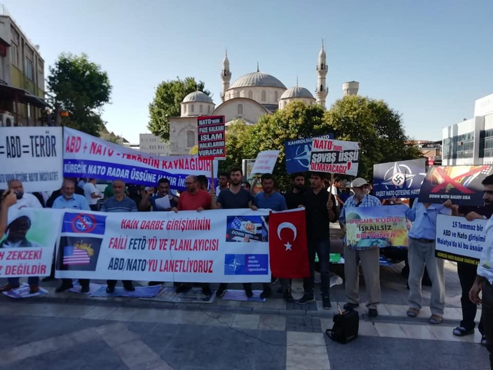 15 Temmuz Hain Darbe Girişimin Yıldönümünde Türkiye'nin NATO'dan Çıkması İstendi (VİDEO-FOTO)