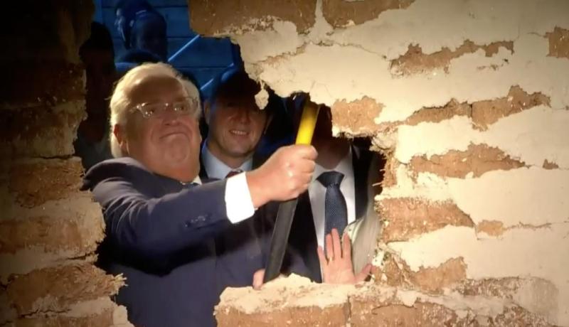 ABD'li Yetkililer Mescidi Aksa'ya Giden Bir Tünelin Açılışını Yaptı