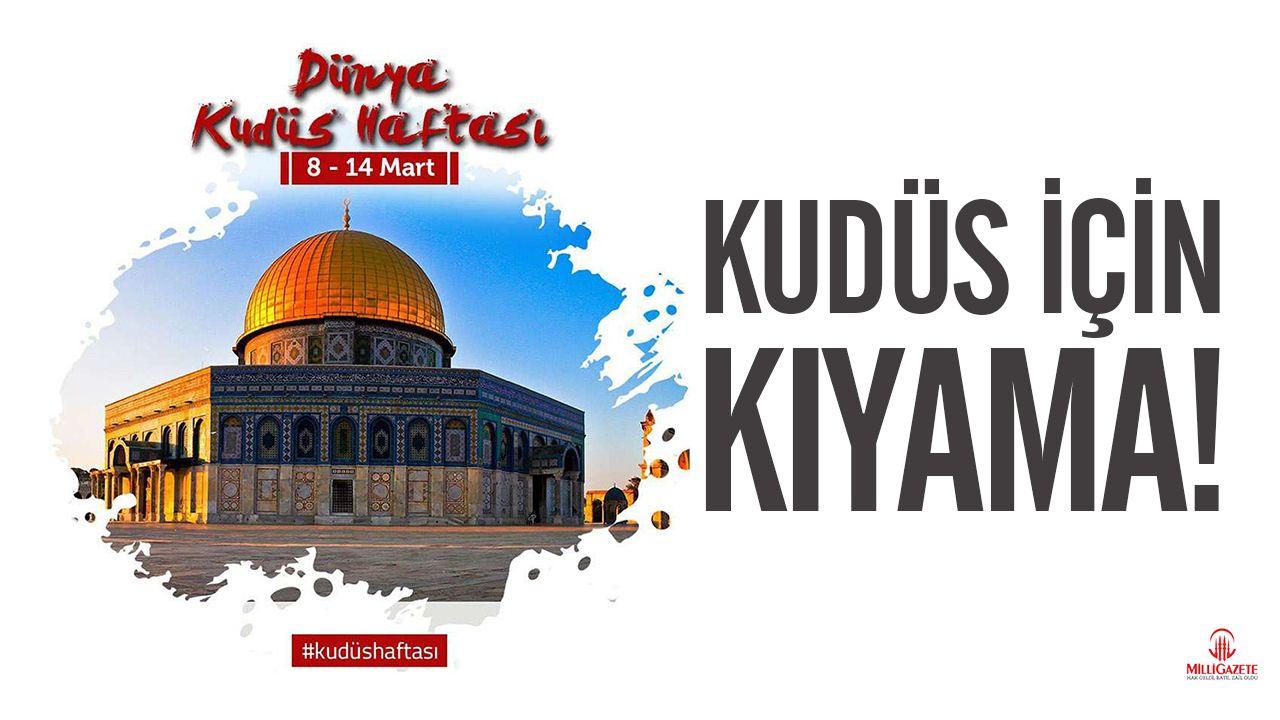 Dünya Kudüs Haftası Başladı