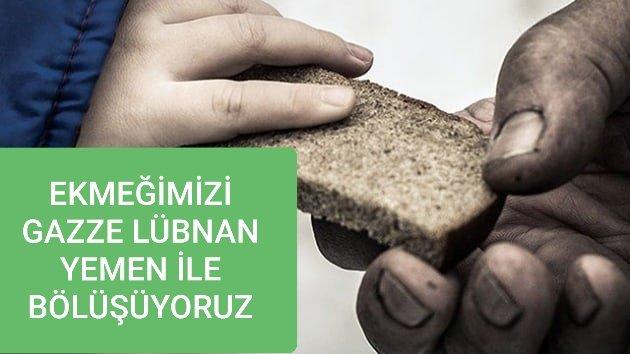 Ekmeğimizi 2. Kez Gazzeli ve Lübnanlı İhtiyaç Sahibi Şehit Aileleri İle Bölüştük