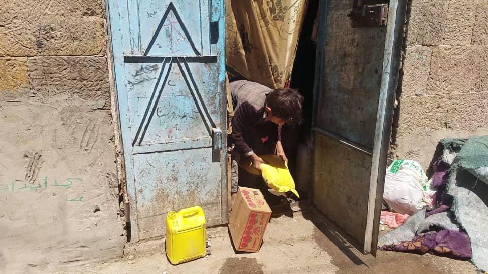 Ekmeğimizi 4. Defa Mazlum Yemen Halkı İle  Bölüştük (Video)