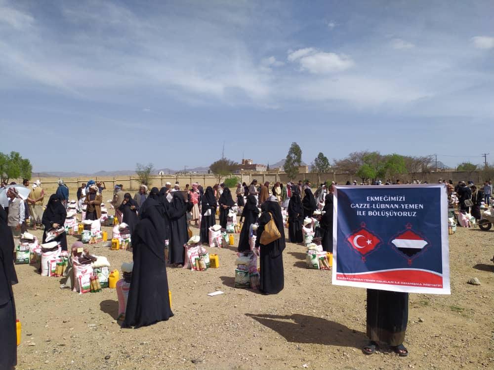 Ekmeğimizi 5. Defa Mazlum Yemen Halkı İle Bölüştük (Video)