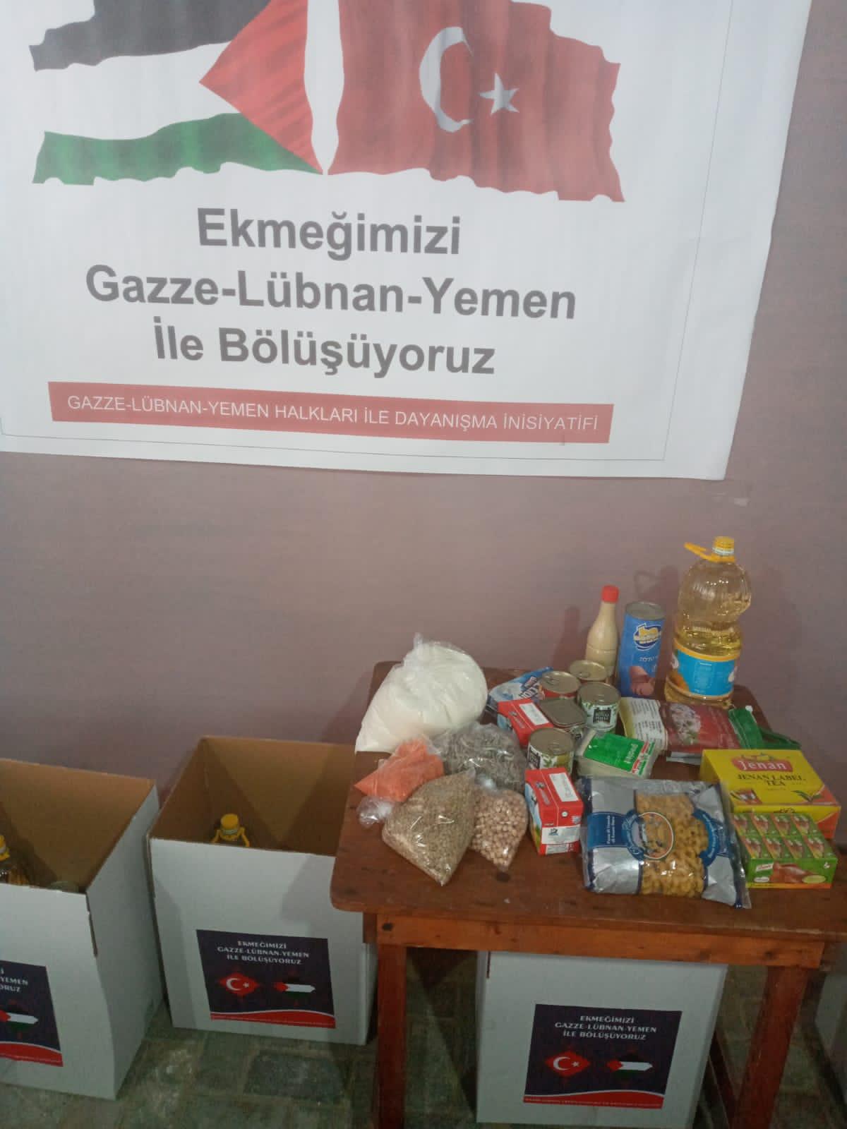 'Ekmeğimiz Gazzeli Şehit Aileleri İle Bölüşüldü' (Video-Foto)