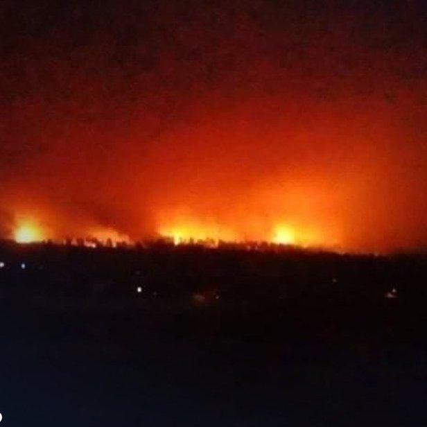 Erbil'de Dün Gece Terörist Abd Ordusuna ve Siyonist İsrail'e Büyük Bir Darbe İndirildi