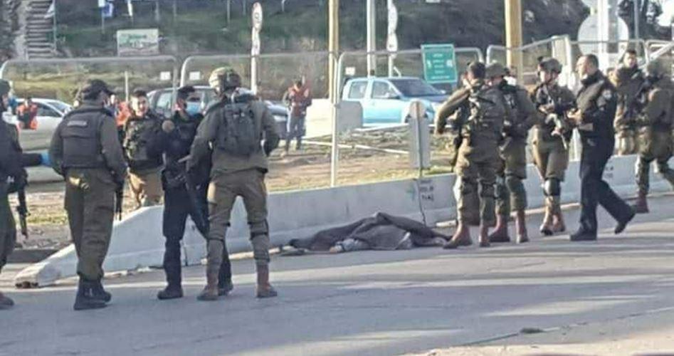 Filistinli Bir Genç Siyonist Askerlerce Şehit Edildi