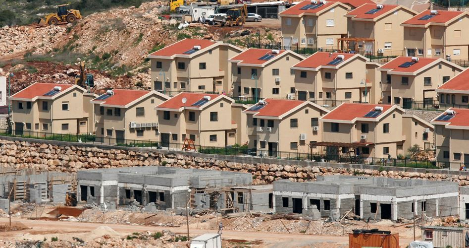 Gasıp İsrail Batı Şeria'da Yeni Yerleşkeler İnşa Edecek