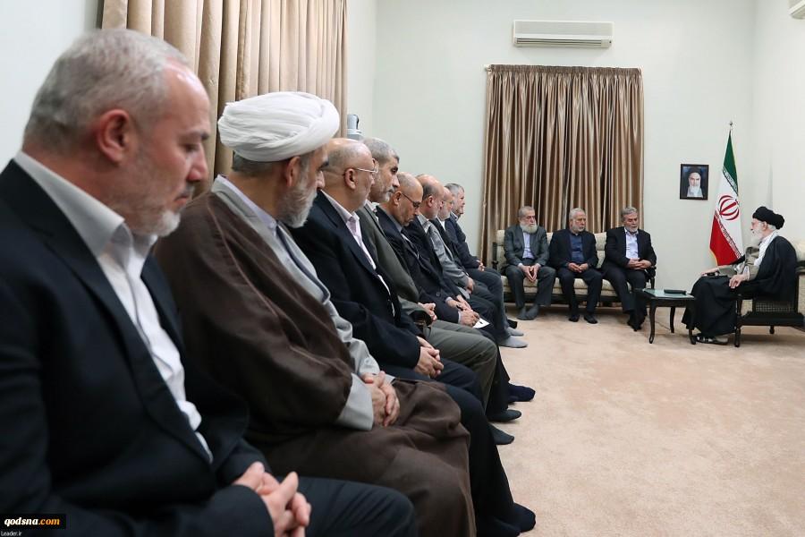 İslami Cihad Hareketi Heyetini Kabul Eden Ayetullah Hamenei'den Filistin Müjdesi