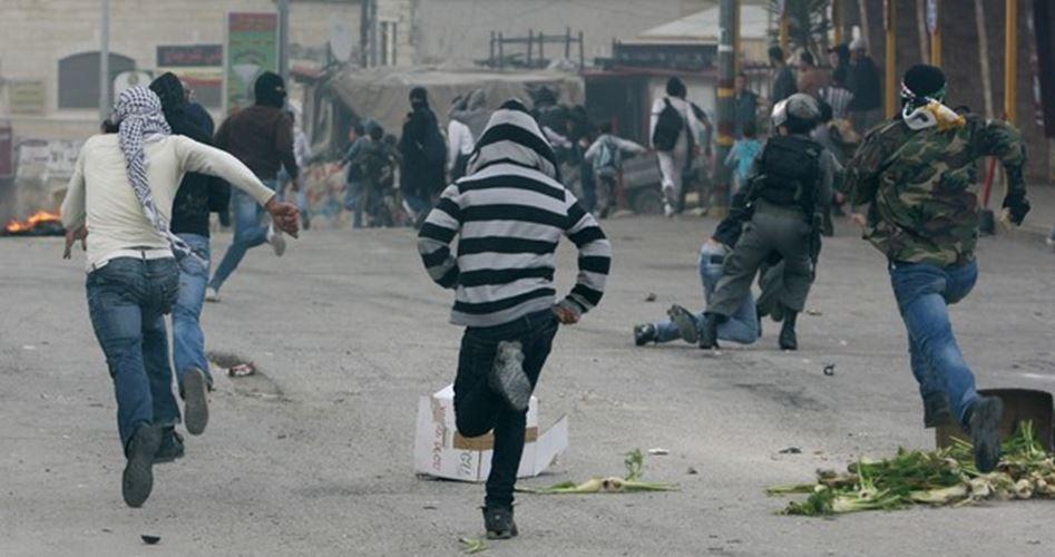 Katil İsrail Askerleri Barışçı Gösteriye Saldırdı