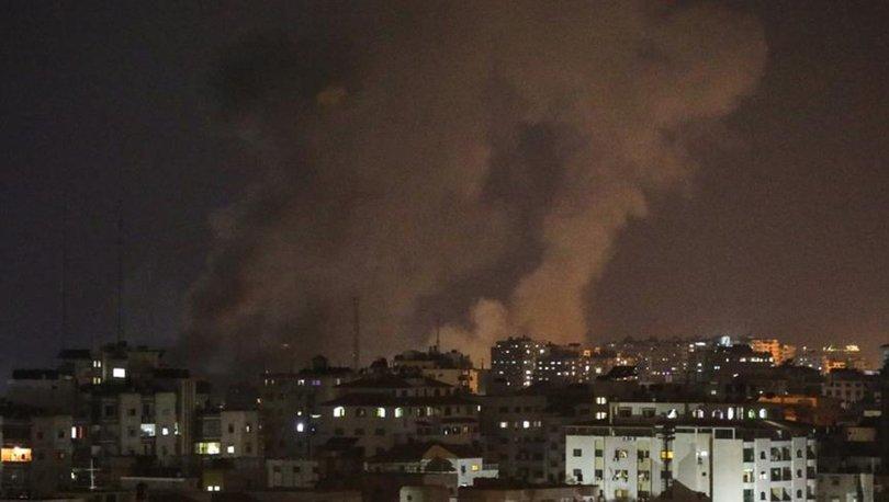 Korsan İsrail Gazze'ye Saldırdı