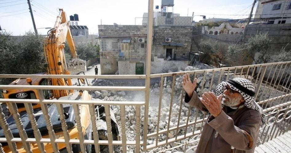 Korsan İsrail'in Filistin'de Yaptığı Yıkım Rapor Halinde Yayınlandı