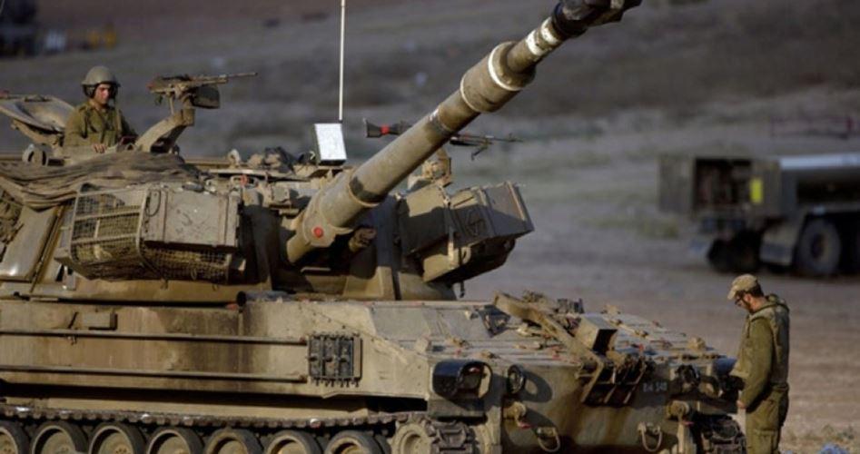 Korsan İsrail Ordusundan Gazze'ye Topçu Saldırısı