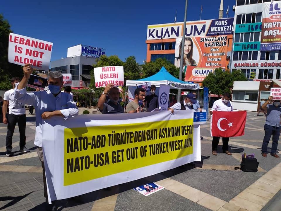 Kürecik Nato Radar Üssüne Hayır İnisiyatifinden Çağrı: Nato'dan Çıkılsın Üsler Kapatılsın (FOTO-VİDEO)