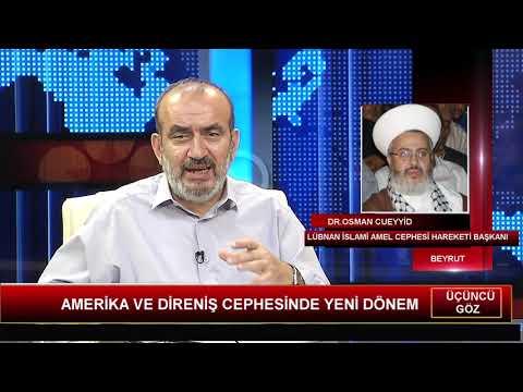 Lübnan İslami Amel Cephesi Lideri Ehli Sünnet Alimi Dr. Osman Cueyyid Kudüs Tv'ye Önemli Açıklamalar Yaptı (TAM METİN-VİDEO)