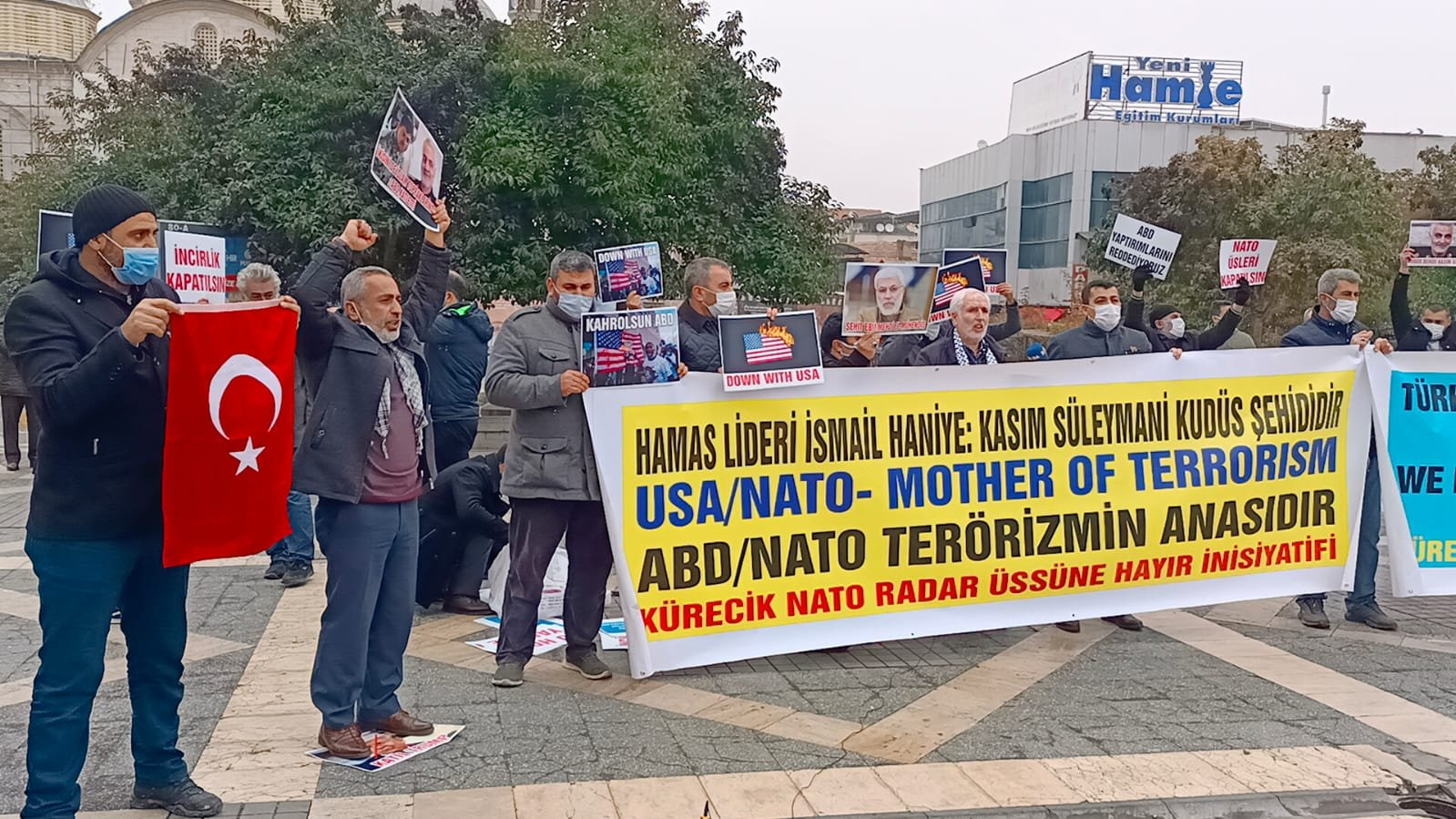 Malatya'da Terörist NATO ve Büyük Şeytan ABD Protesto Edildi (Video-Foto)