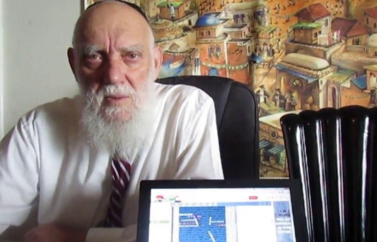 Matityahu Glazerson Siyonist İsrail'in Ne Zaman ve Kim Tarafından Yıkılacağına Dair Açıklamada Bulundu