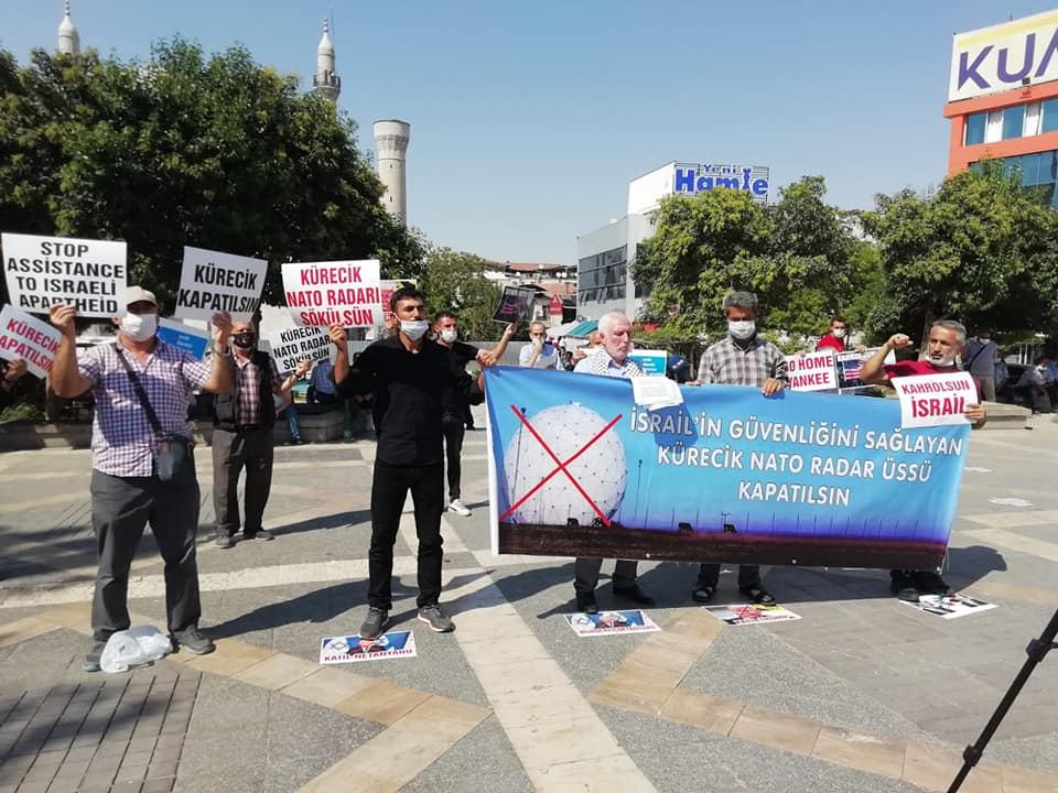Mavi Marmara Gazisi Mehmet Tunç Malatya'da Düzenlenen Basın Açıklamasında Kürecik Nato Radarının Kapatılmasını Talep Etti (FOTO-VİDEO)