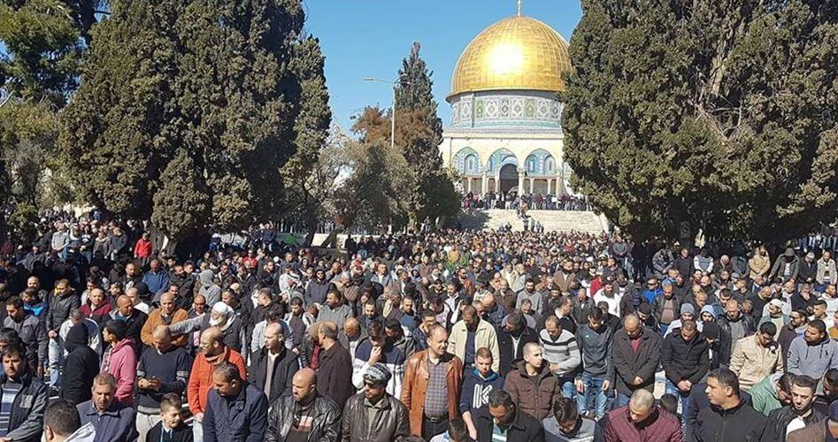 Mescid-i Aksa Hatibi Ebu Sinine: Tüm Müslümanlar Filistinli Esirlere Destek Vermeli