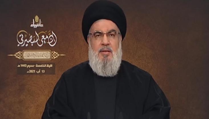 Nasrallah: İsrail İle Barış Haramdır