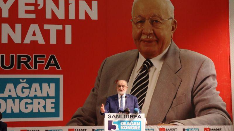 Saadet Lideri Karamollaoğlu: Siyonizm Türkiye İle İran'ı Savaştırmak İstiyor