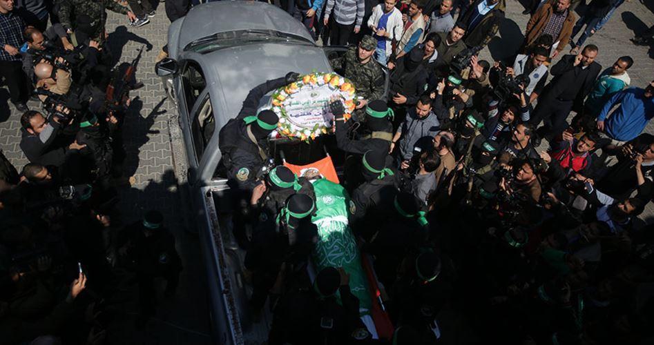 Şehit El-Kassam Komutanı Mazin Fukaha'nın Cenazesi Gazze'de Kaldırıldı (FOTO)