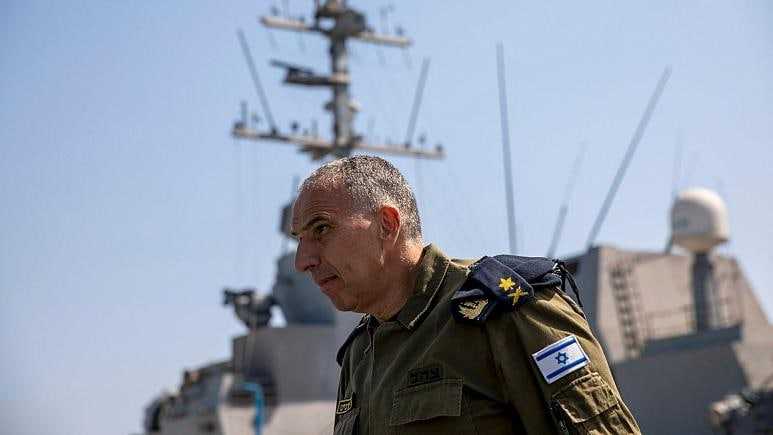 Siyonist Amiral Eli Sharvit'ten Kızıldeniz Açıklaması
