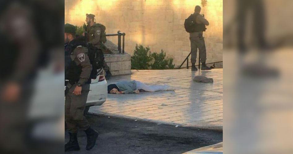 Siyonist İsrail Askerleri Kudüs'te Filistinli Genç Kızı Şehit Etti