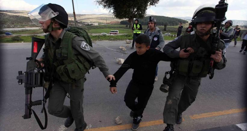 Siyonist İsrail Rejimi Ağustos Ayında 70'i Çocuk 490 Kişiyi Tutukladı