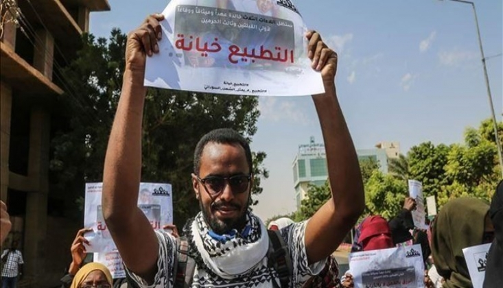 Sudan'da Korsan İsrail İle Normalleşmeye Karşı Halk Direniş Cephesi Kuruldu