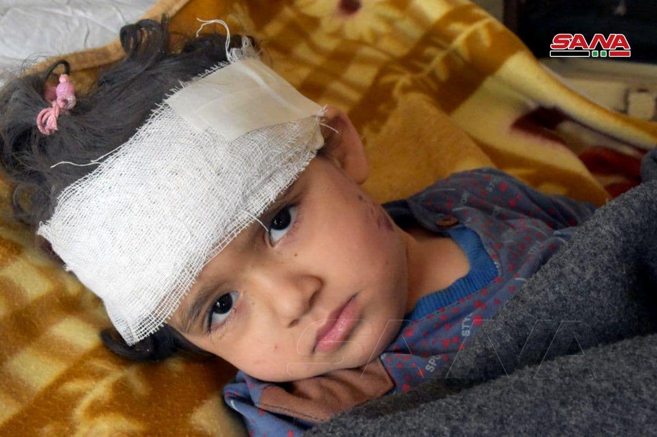 Suriye'ye Saldıran Terörist İsrail 4 Sivili Şehit Etti