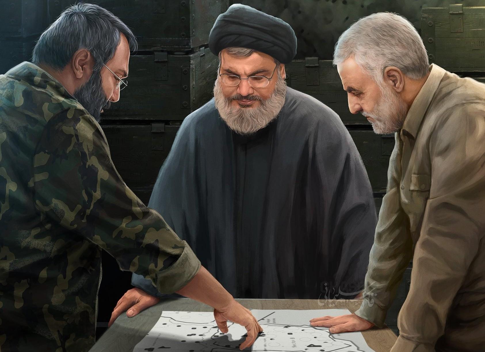 Terörist İsrail'i Korkutan Üç Güzel Adam: Nasrallah, Süleymani, Muğniye