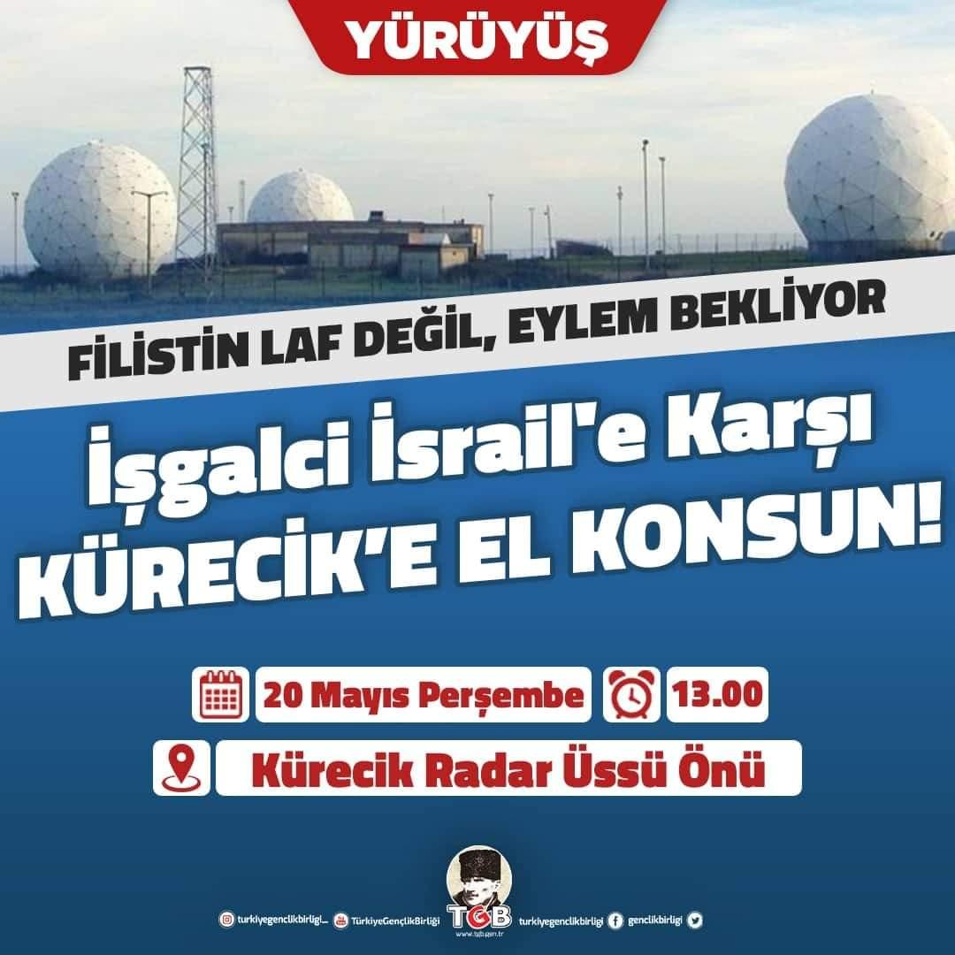 TGB Perşembe Günü Kürecik Nato Radar Üssüne Yürüyor (Davet)