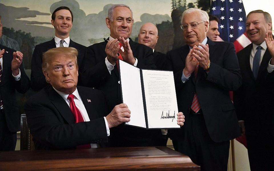 Trump Siyonist İsrail'e Hangi Hizmetleri Yaptı?
