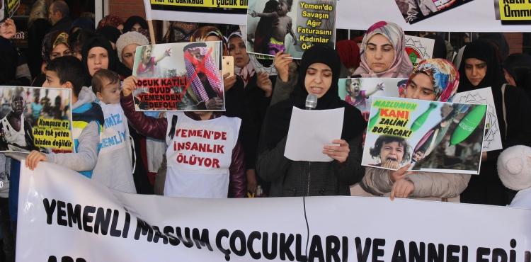 Türkiyeli Anneler Malatya'dan Yemenli Annelere Destek Verdi (VİDEO-FOTO)