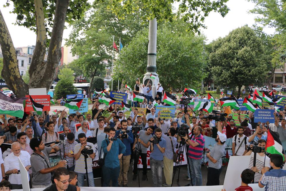 Yarın Dünya Kudüs Günü: Tüm Türkiye'de Filistin Bayraklarını Dalgalandıracağız